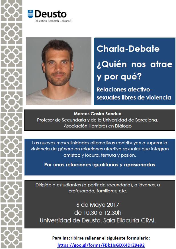 Charla-Debate ¿Quién nos atrae y por qué?